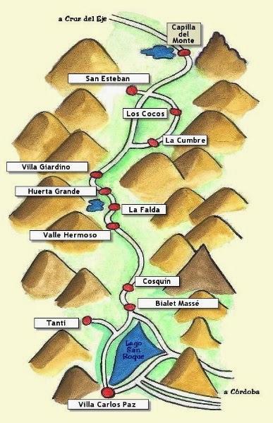 Se ubica a 87 km de la ciudad de c rdoba sobre la ruta 38 for Oficina de turismo en cordoba