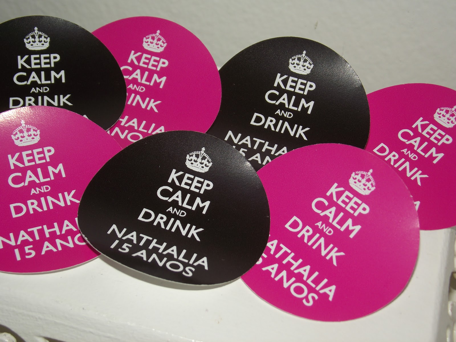 decoracao festa keep calm:Keep Calm