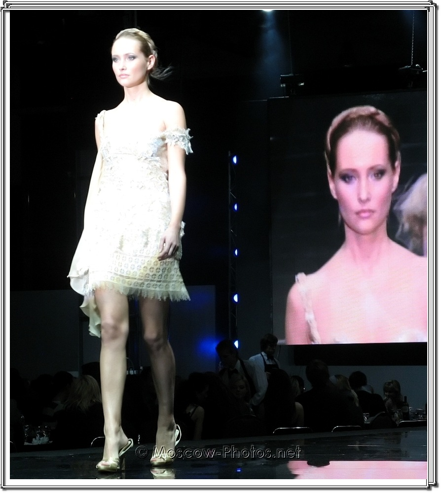 Tony Ward Collection. Moscow Fashion Expo - 2007.