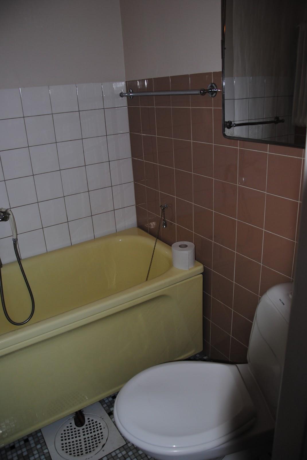VÃ¥rat Lilla Hus: VÃ¥rat badrum, litet och funktionellt..