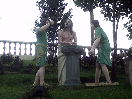 Scourging at the Pillar at Kamay ni Hesus Shrine, Lucban