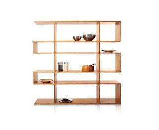 Bibliothèque Zig Zag - Design et focntionnelle grâce à ces 16 compartiments de rangement
