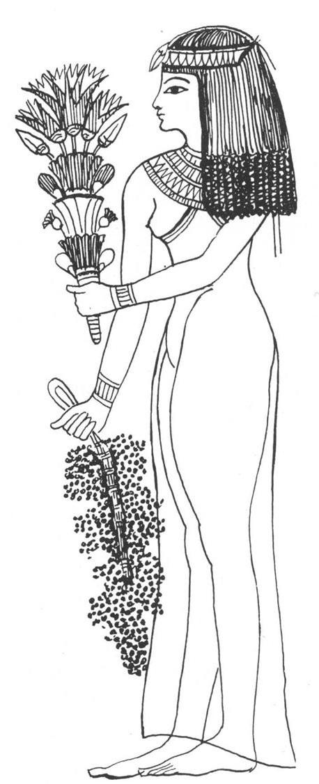 The Globe Kiecki W Starożytnym Egipcie