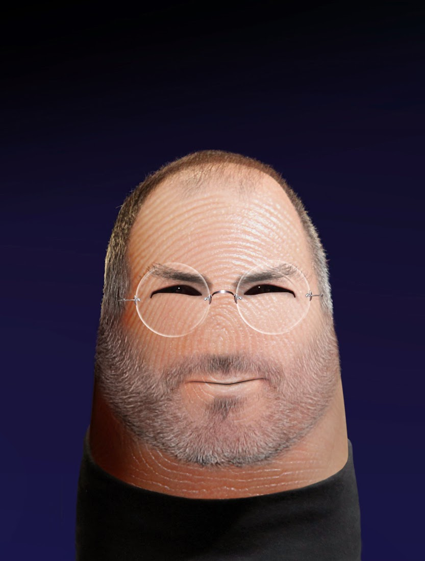 14-Steve-Jobs-Dito-von-Tease-Portraits-on-a-Finger-www-designstack-co