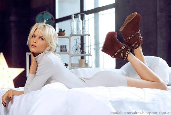 Moda otoño invierno 2014 zapatos. Lady Stork otoño invierno 2014.