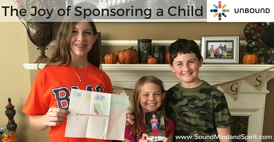The Joys of Sponsoring a Child with Unbound