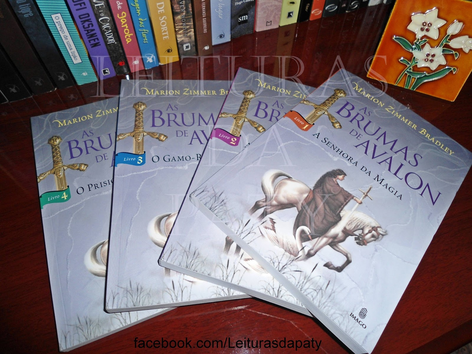 Livro As Brumas de Avalon -  Marion Z. Bradley - Blog Leituras da Paty