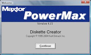 Download Maxtor POWERMAX 4,23