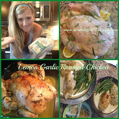 all dinner ideas, rosemary, lemon garlic, roasted chicken, clean eating, organic meals, Easy dinner ideas, healthy dinners, sarah griffith, top beachbody coach,