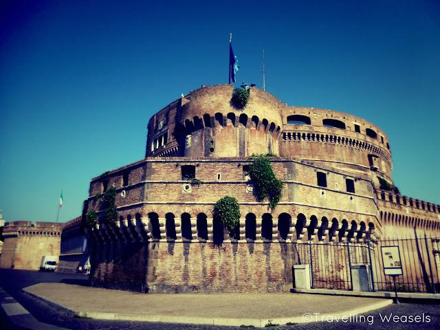 Die Engelsburg Castel Sant'Angelo