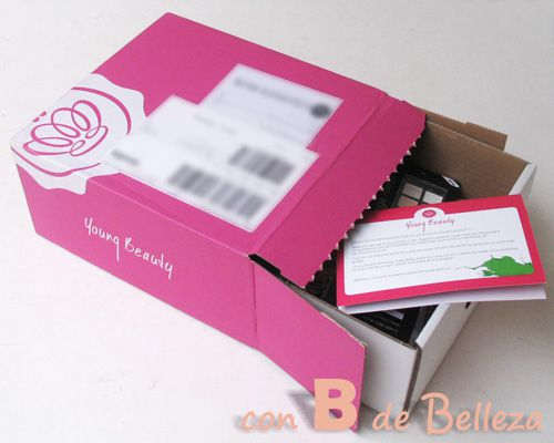 Segunda caja joven de GlossyBox
