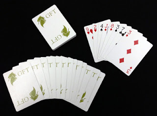 Our Magicians Use Custom Branded Playing Cards
