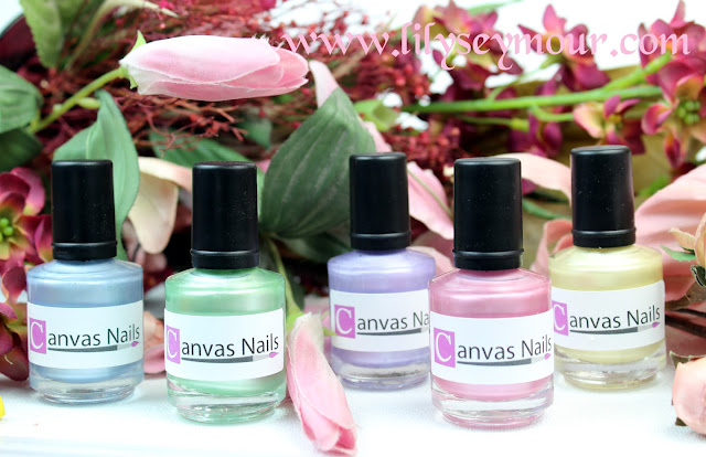 "Canvas Nails ""Step Into Spring"" Collection"