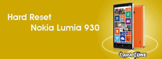 Cara Hard Reset Nokia Lumia 930