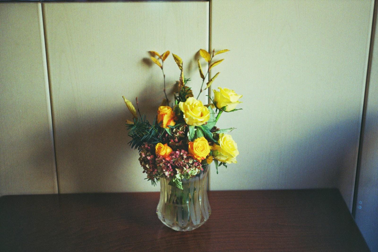 Slika šopka rož