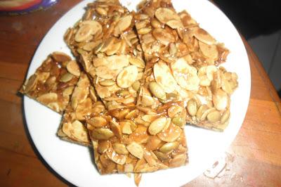 Zalekha Luvs Cooking: Bepang Badam @ Crunchy Caramel Almond