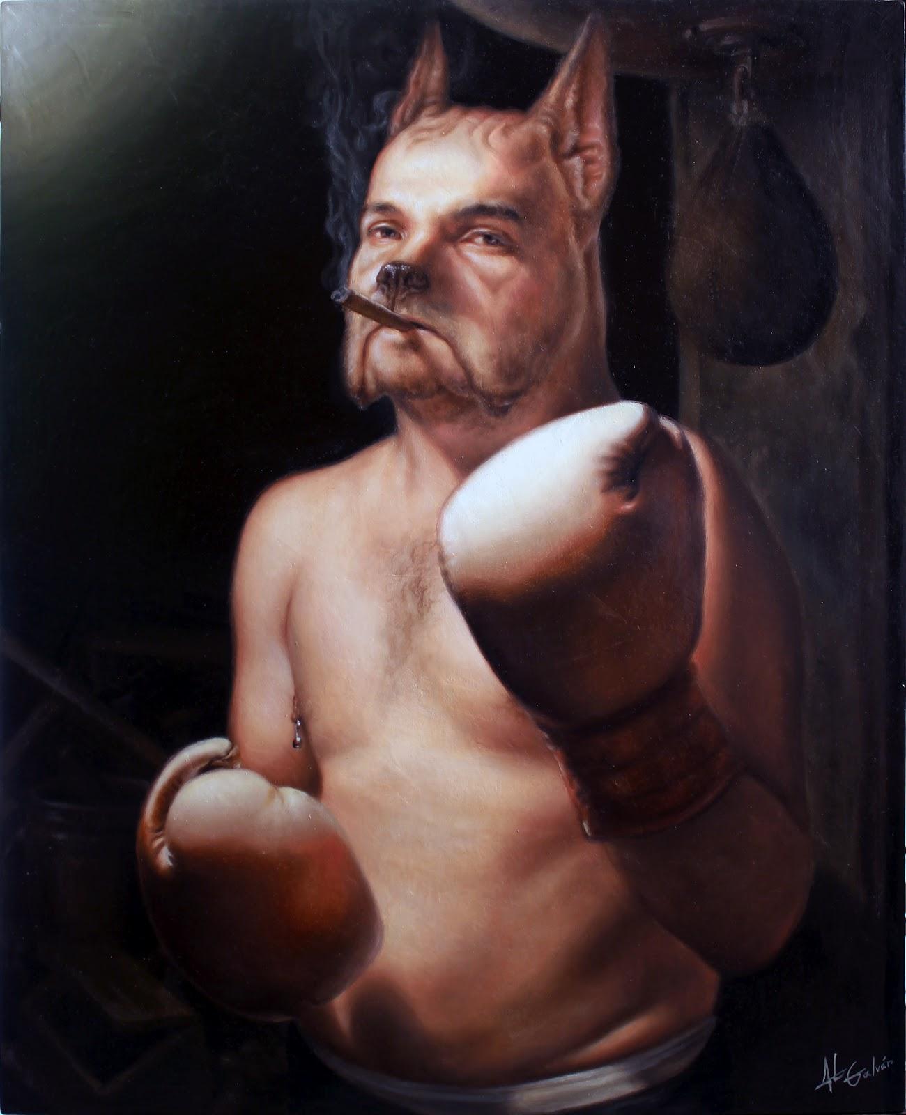 Jose Luis Lopez Galvan, boxe