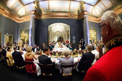 El Salón de la Fama. Cena víspera de la toma investidura.