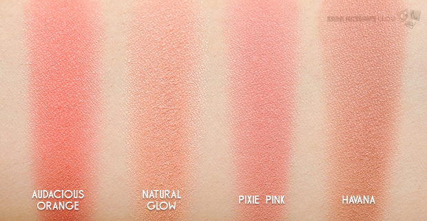 swatches of color studio pro blush