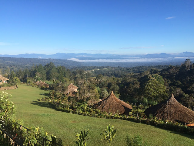 The view from Ambua Lodge, Tari - Papua New Guinea
