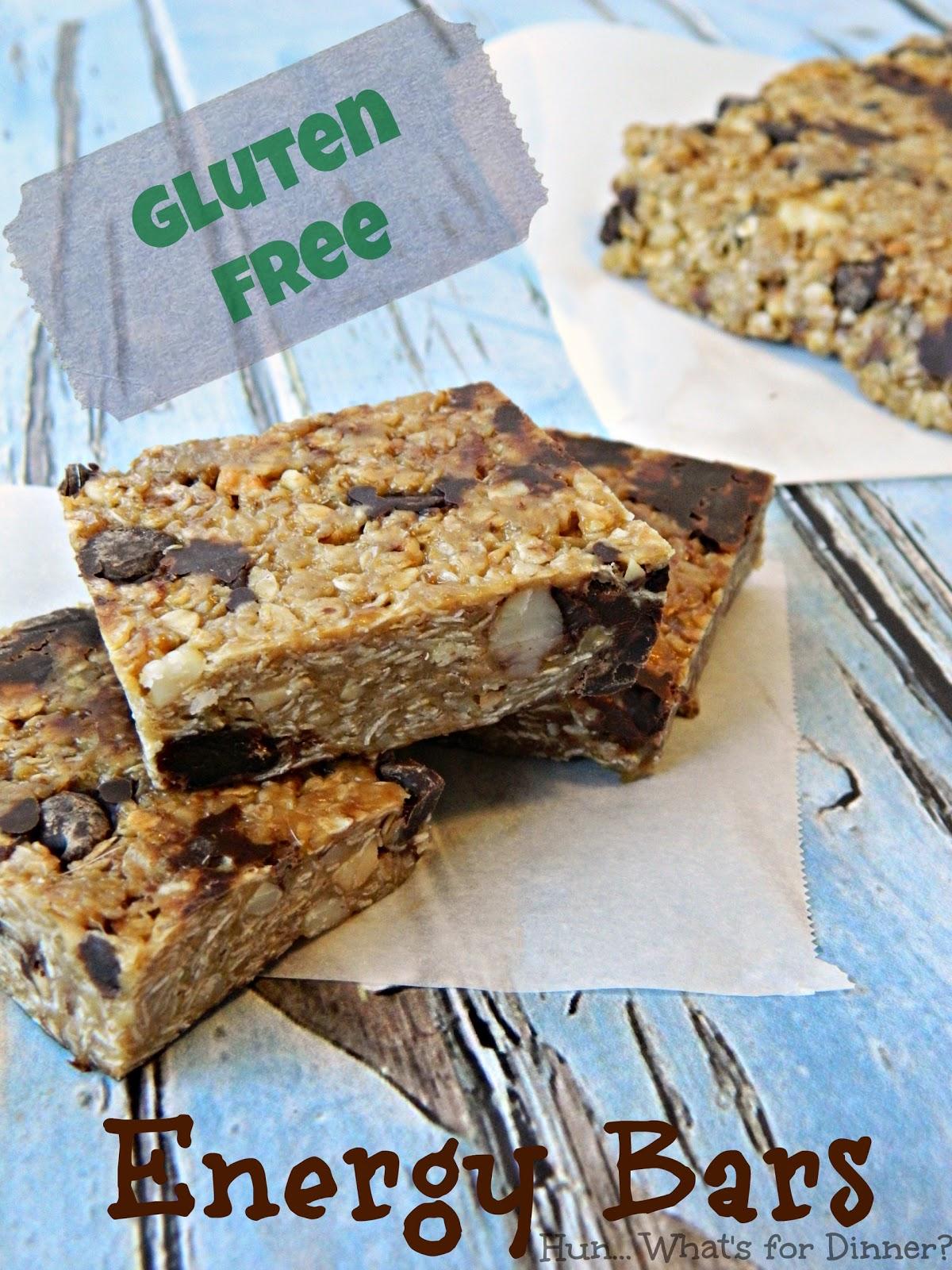 Hun... What's for Dinner? Gluten Free Energy Bars~ Secret Recipe Club