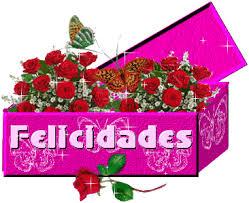 gifs de felicidades en rosas