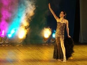 Yasmin Casiragui foi eleita a melhor atração da noite (Foto: Krystine Carneiro)