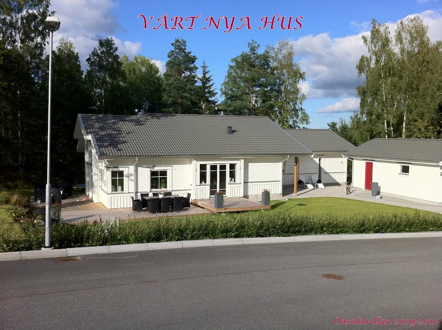 Vårt nya hus