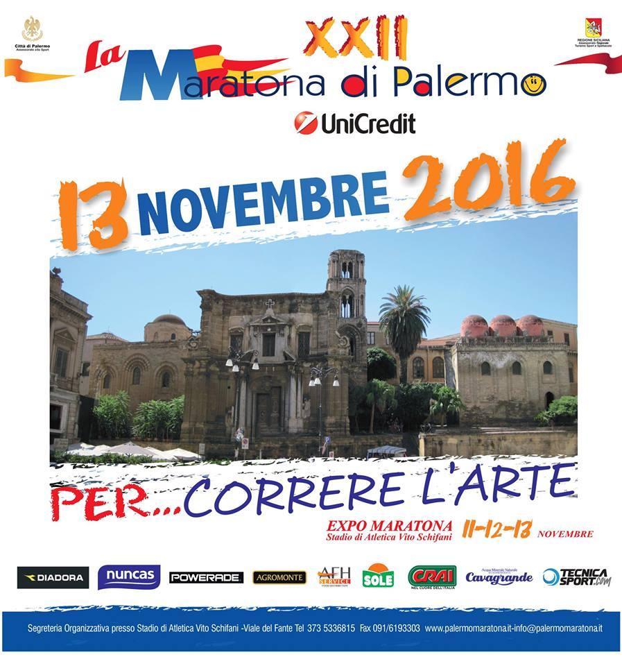 Maratona di Palermo 2016