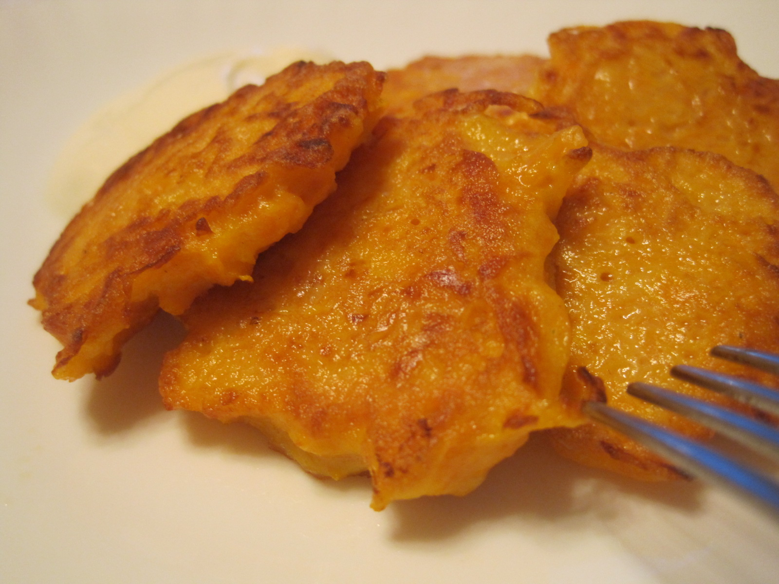 Sweet Pumpkin Fritters Recipe — Dishmaps