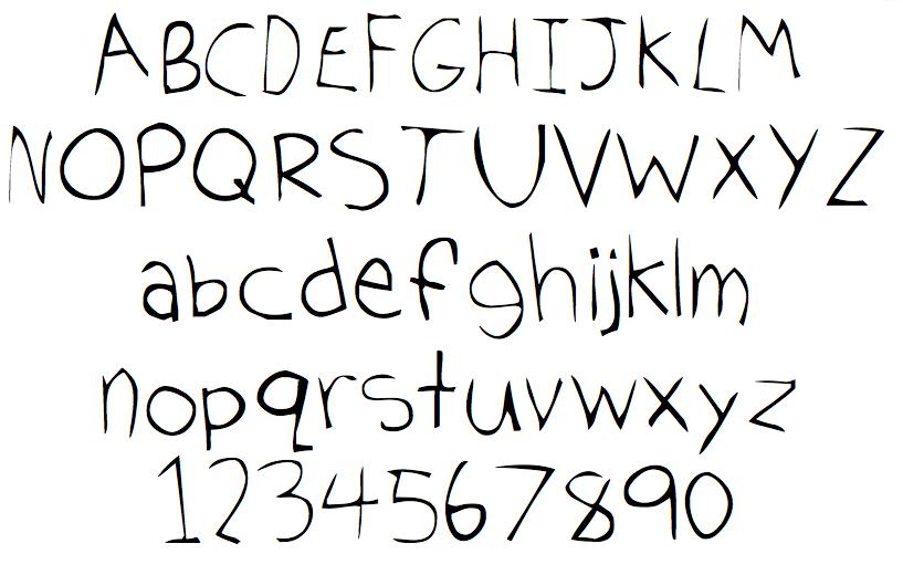 Handwriting Font Software Hand Writing