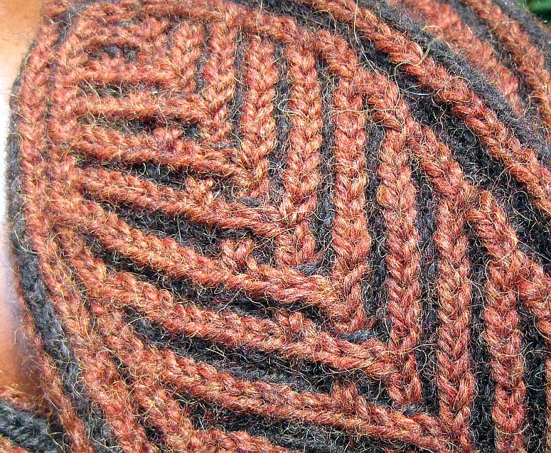 Бриошь вязание спицами 733