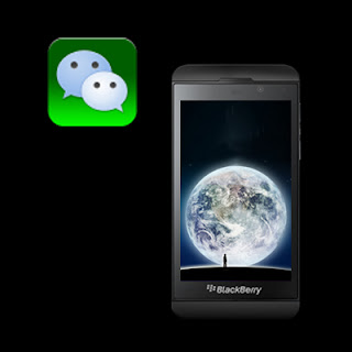 WeChat on BlackBerry Z10