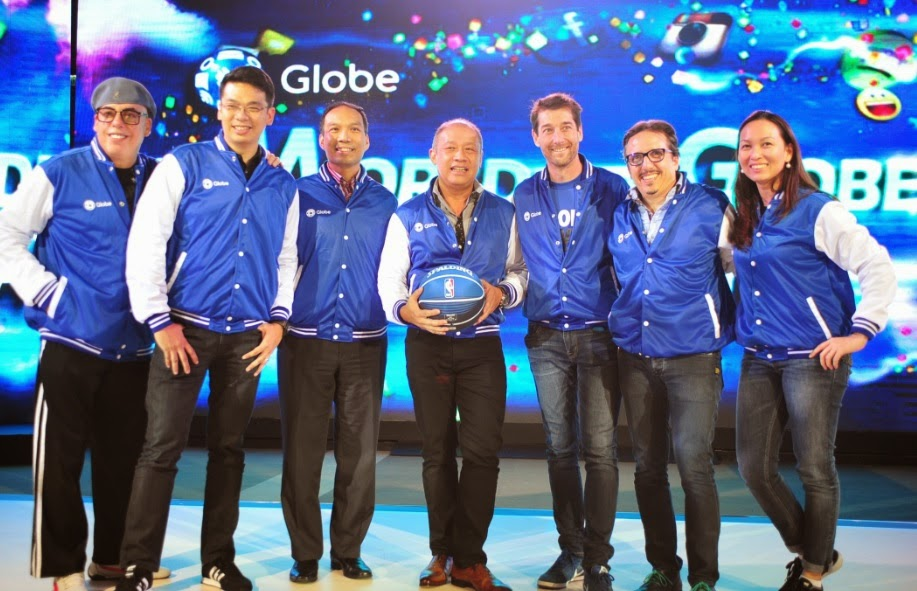Globe seals partnership with NBA