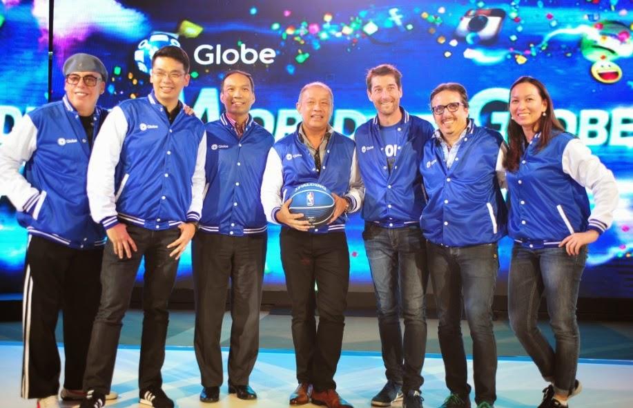 Globe seals partnership with NBA