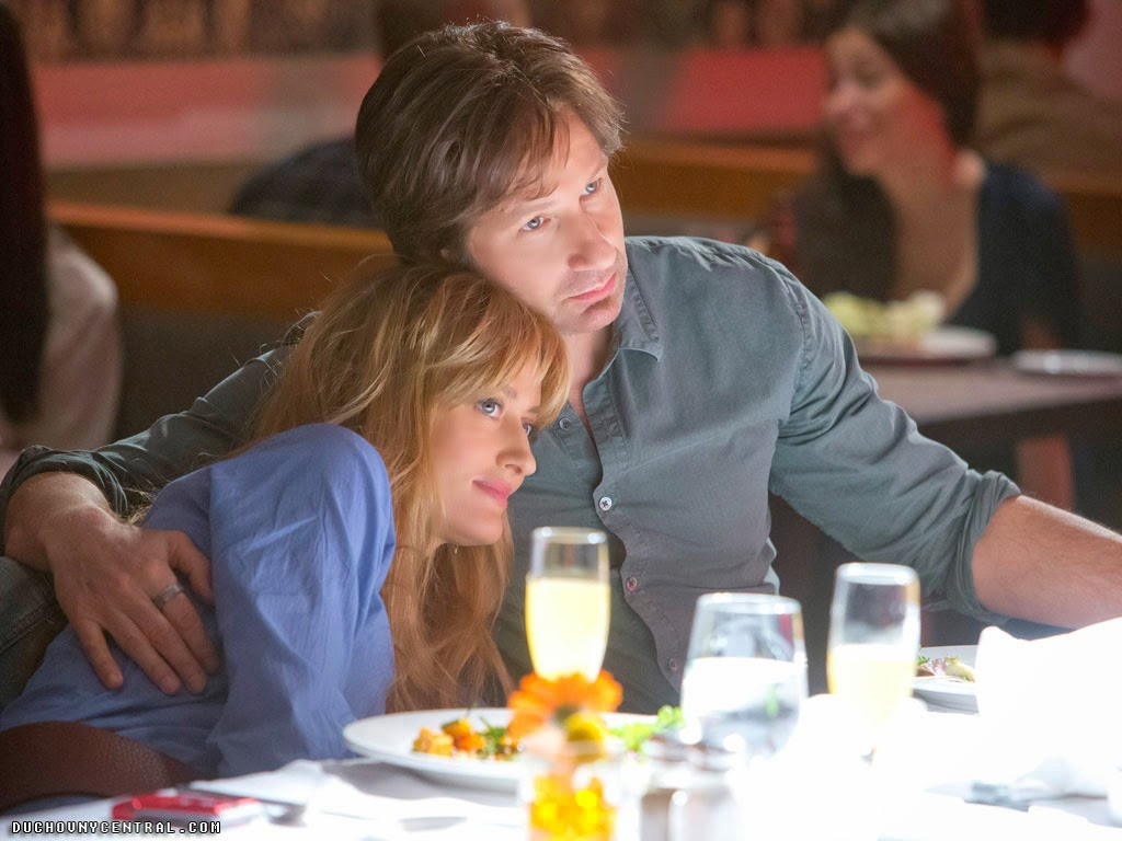 David Duchovny and Natascha McElhone in Californication Episode 7x08