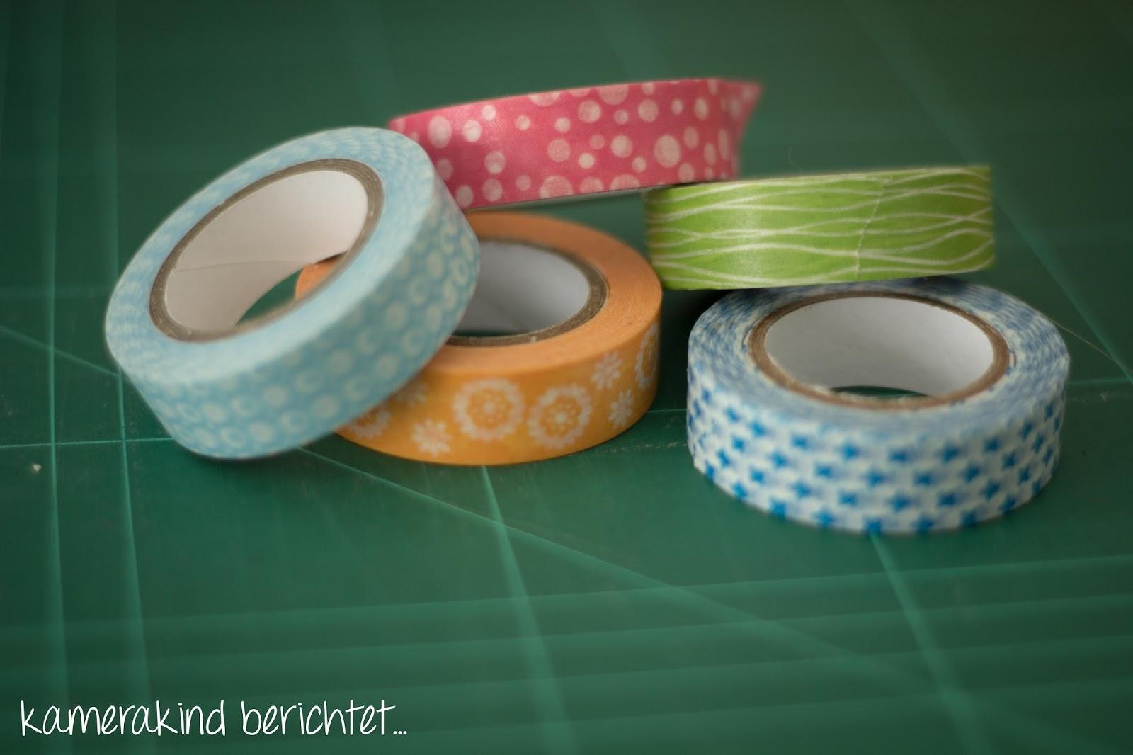 Buntes washi Tape