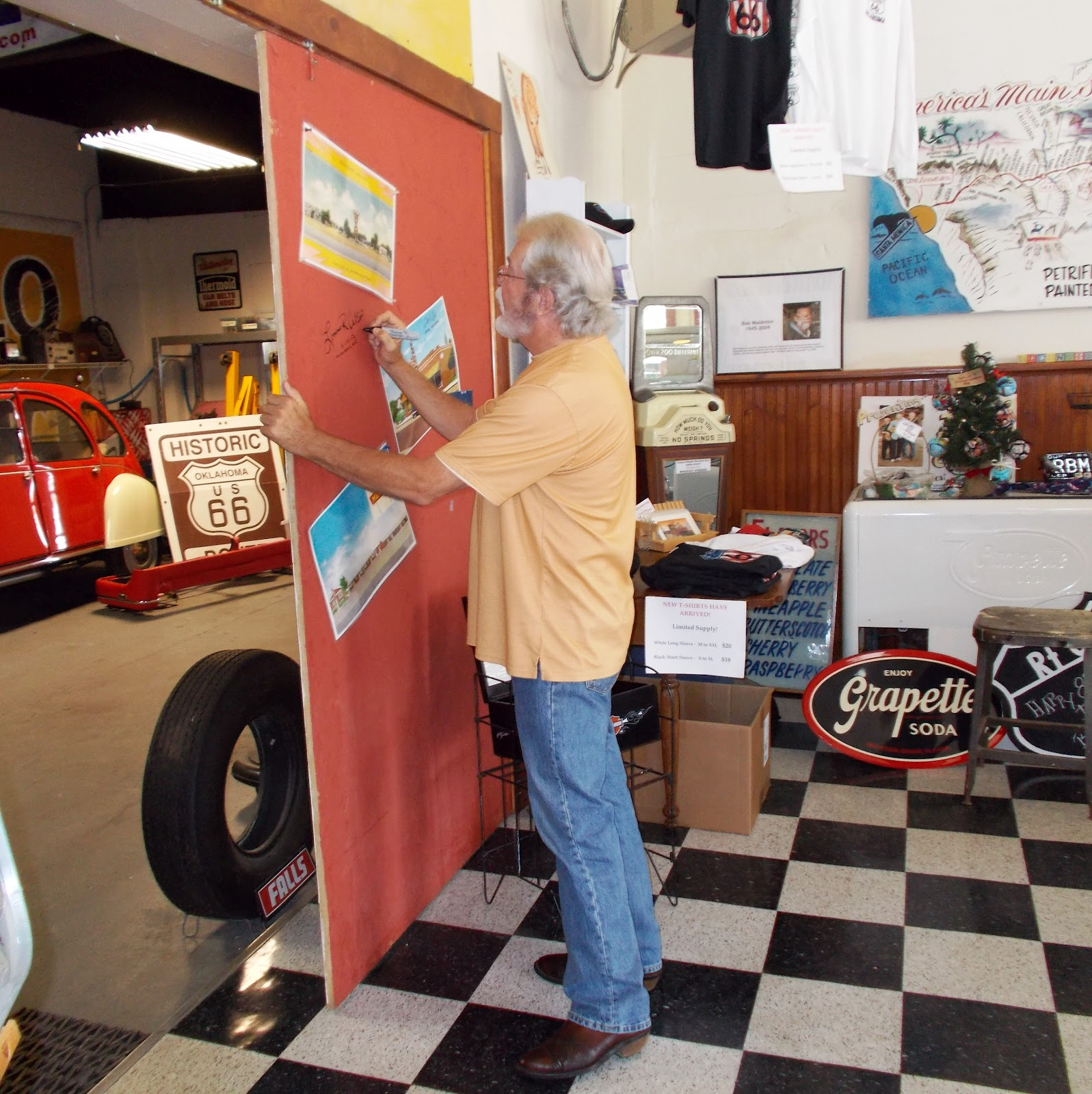 Thoughts From A Route 66 Business Owner The Red Door