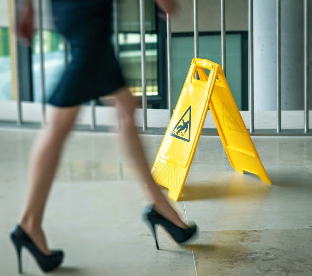 Three Signs You May Not Be To Blame for a Slip and Fall Accident