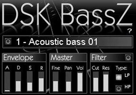 DSK BassZ - Plugin VST de Baixo Free