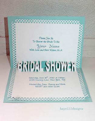 Beyond Beauty Bridal Shower Card 1