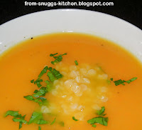 Karottensuppe mit Honig & Ingwer