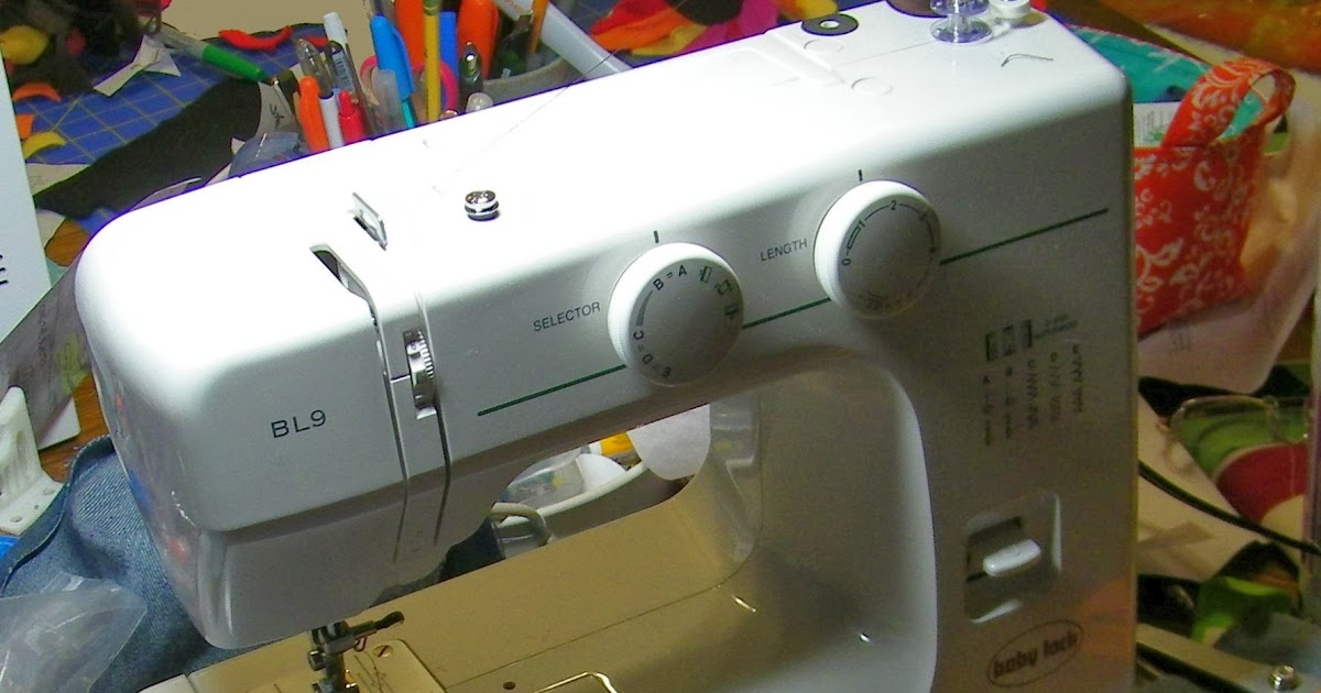 WaggonsWest Sewing Machine Review BL40 Adorable Babylock Bl9 Sewing Machine