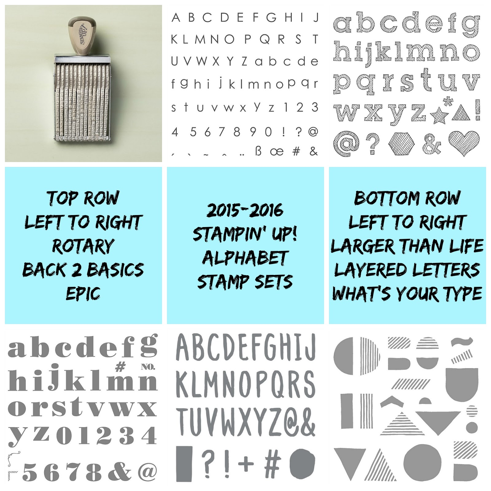 Our Team Had Some Fun Playing With A Few Of The Different Alphabet Stamp Sets And Are Here To Share Their Creations You Today