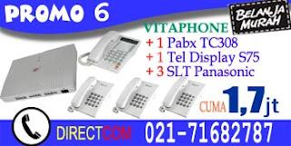 Promo 6 Pabx Vitaphone 308