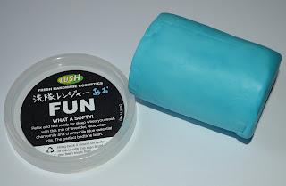 LUSH blue fun