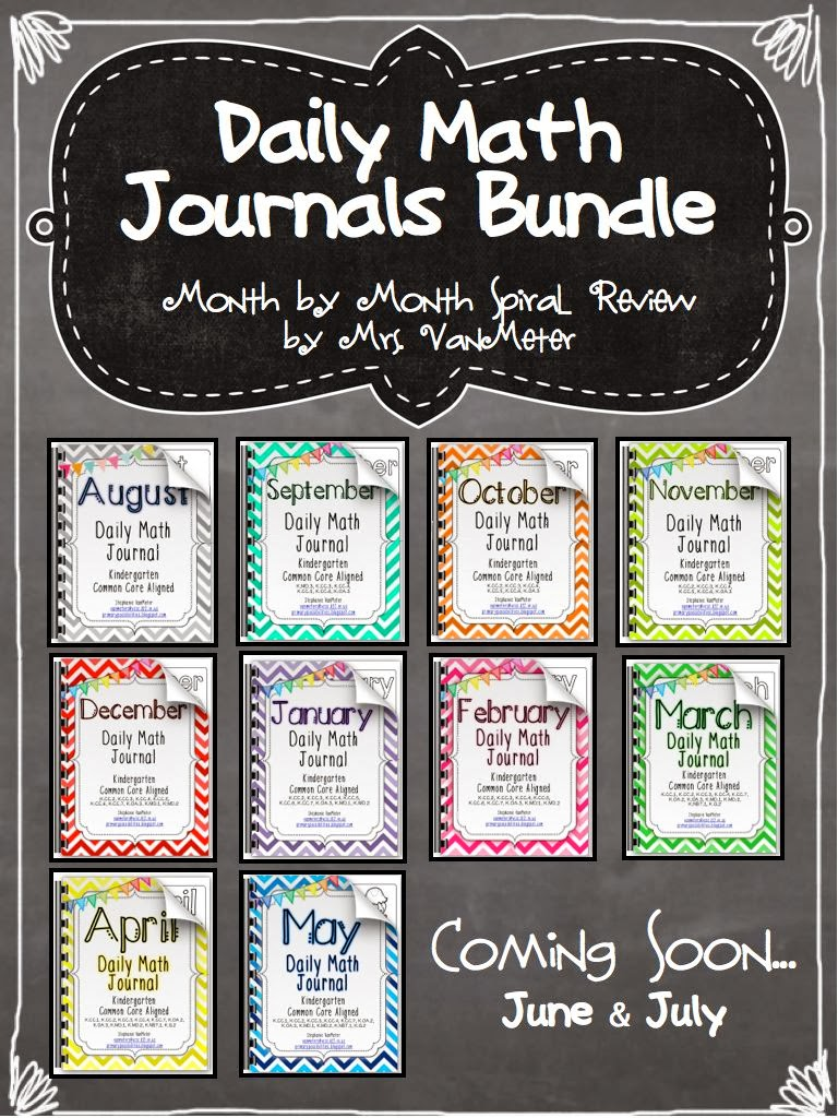 http://www.teacherspayteachers.com/Product/Daily-Math-Journals-Bundled-Common-Core-Aligned-1011213