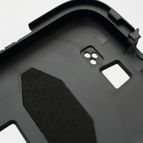 Military Duty Belt Clip Silicone & PC Hybrid Case for Samsung Galaxy S4 IV i9500 i9502 i9505 - Black