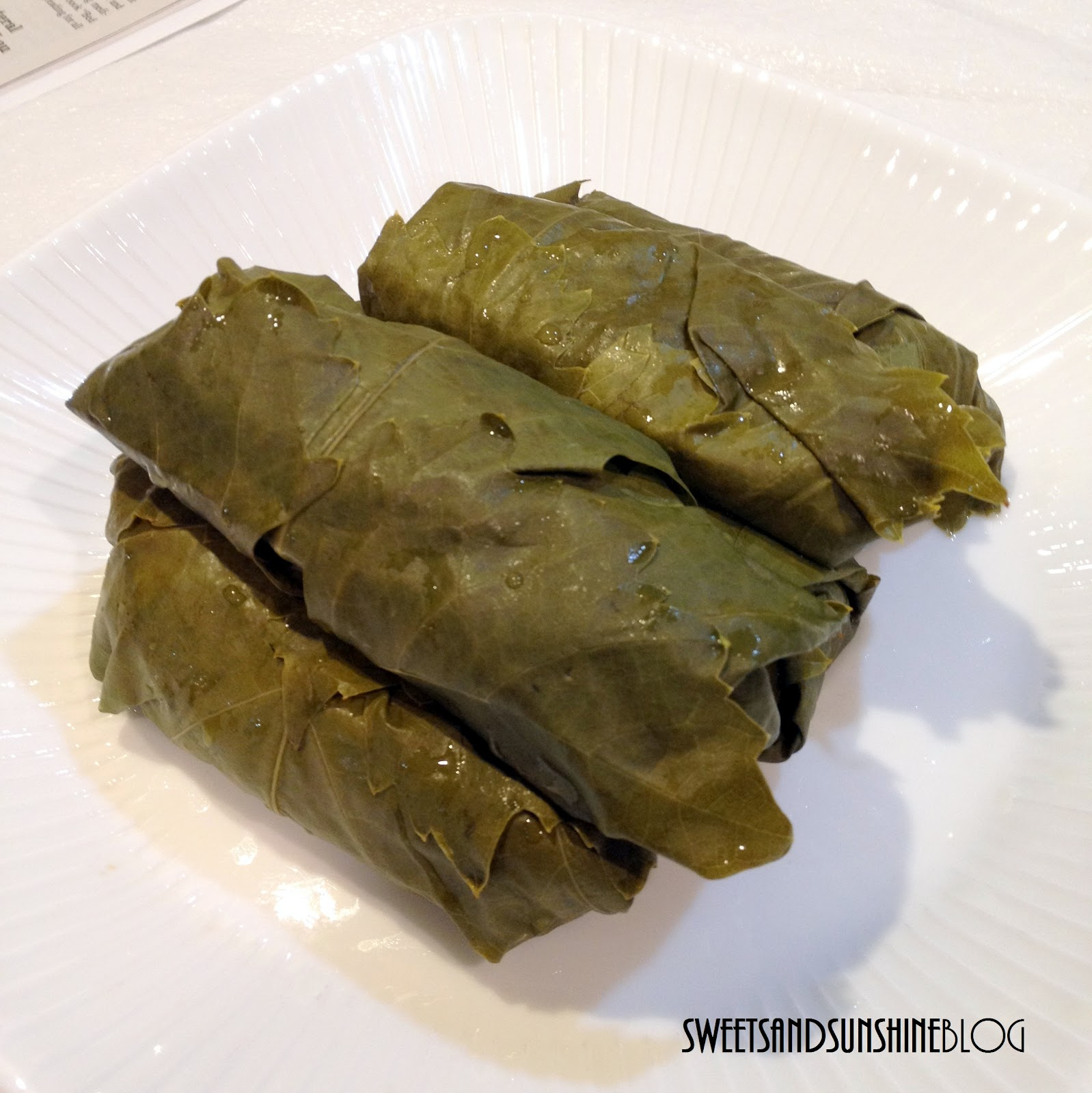 In the Works: Stuffed Grape Leaves (Dolmades)