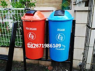tong sampah fiber 80 liter